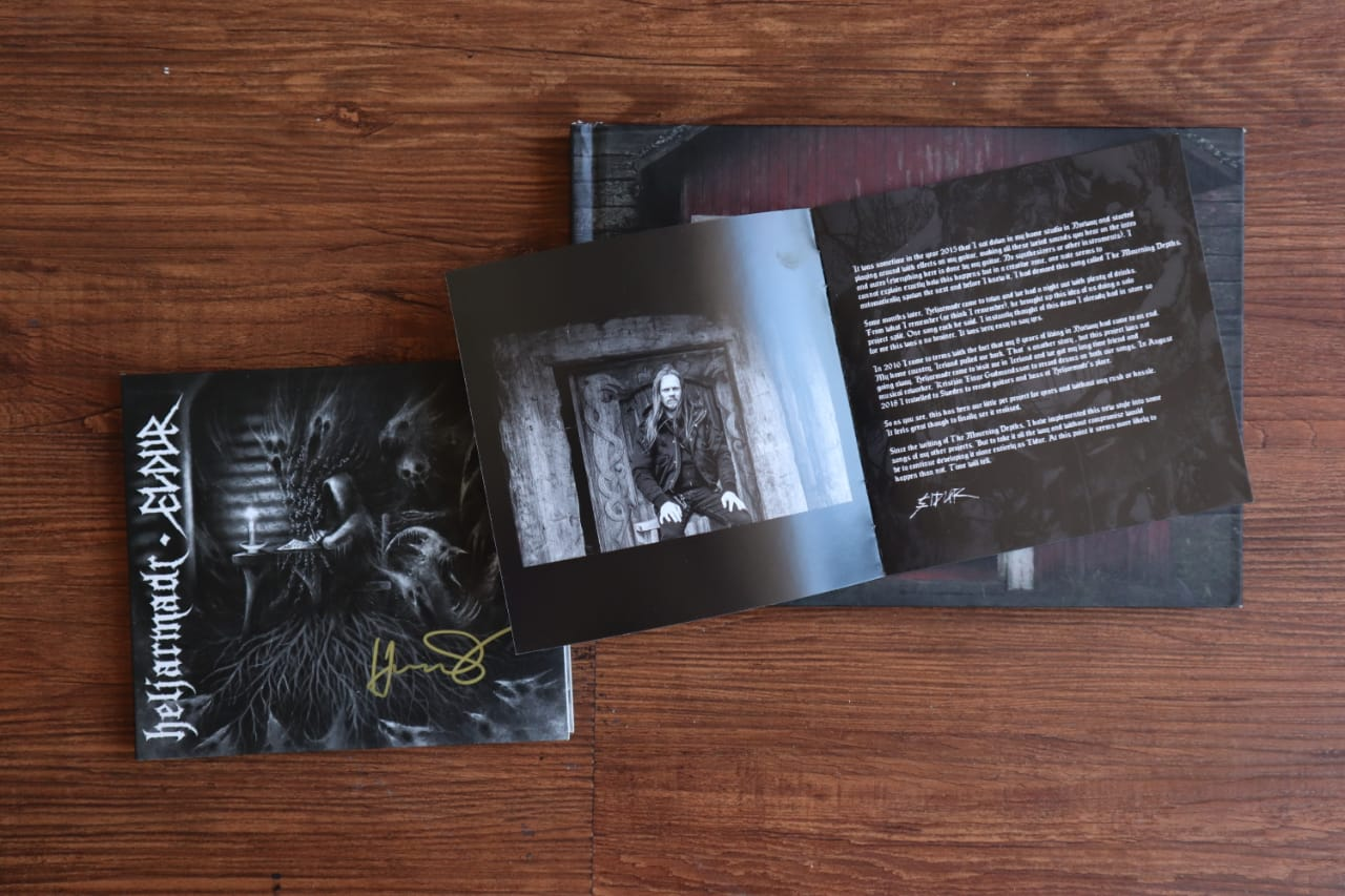 booklet, heljarmdr, black metal