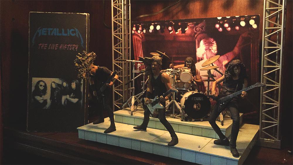 Metallica producción musical Felipe Grüber