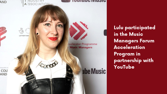 incendia music, music managers forum, lulu davis